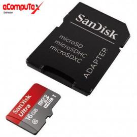 MICRO SD SANDISK   16GB C10