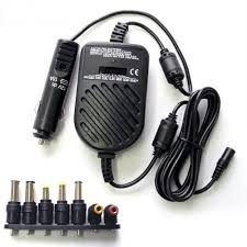 UNIVERSAL CAR CHARGER FOR LAPTOP 80W