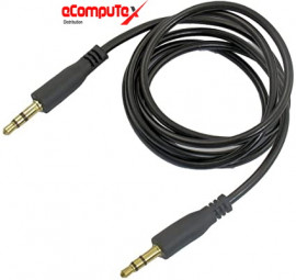 CABLE AUDIO JACK 3.5 TO 3.5 3 METER