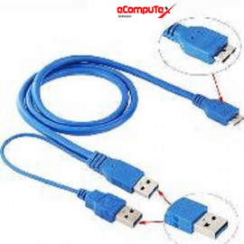 CABLE USB 3.0 TO MICRO B (CABLE HDD 3.0) USB 3.0 TO HDD (CABANG)