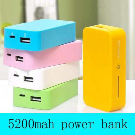POWER BANK CANDY COLOR CANDY 5200 MAH