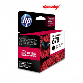 CARTRIDGE HP 678 BLACK (RESMI)
