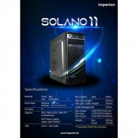 CASING PC IMPERION SOLANO 11 + PSU