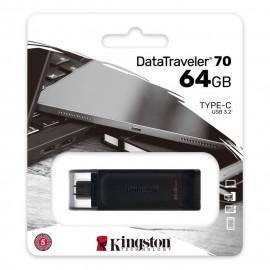 FLASHDISK KINGSTON DT70 64GB Support USB C