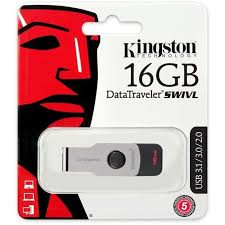 FLASHDISK KINGSTON DTSWIVL 64GB SUPPORT USB2.0 USB3.0