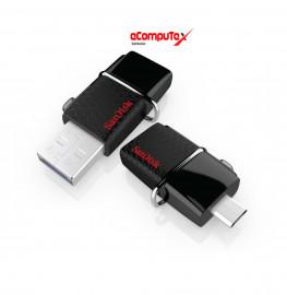 FLASHDISK OTG SANDISK 16GB DD2 ORIGINAL USB FLASH SANDISK DUAL DRIVE