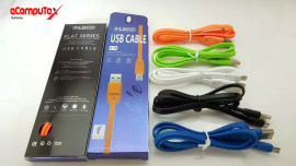 CABLE USB MICRO FLECO FLAT SERIES 3.1A FAST