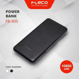POWER BANK FLECO 10800MAH FASH CARGHING 4.2A