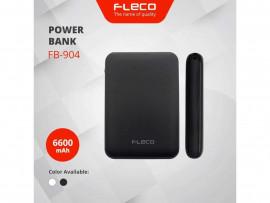 POWER BANK FLECO 6600MAH FAST CHARGING 4.2A