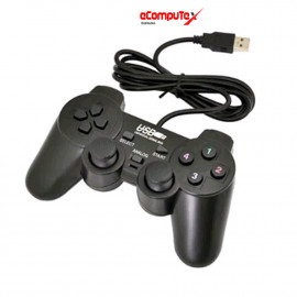 GAMEPAD GETAR HITAM SINGLE