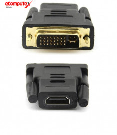 GENDER DVI TO HDMI 24 + 5