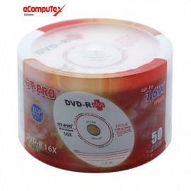 DVD-R GT-PRO PLUS (PACK 50 PCS)