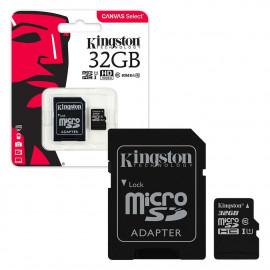 MICRO SD KINGSTON CANVAS 32GB CLASS 10
