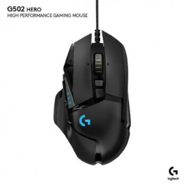MOUSE USB GAMING LOGITECH G402 HYPERION FURY (ULTRA FAST FPS)