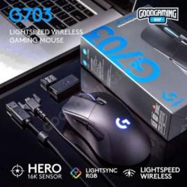 MOUSE WIRELESS GAMING LOGITECH G703 HERO (LIGHTSPEED)