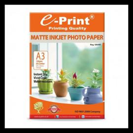 PAPER E-PRINT MATTE INKJET A3 (130GSM/50S)