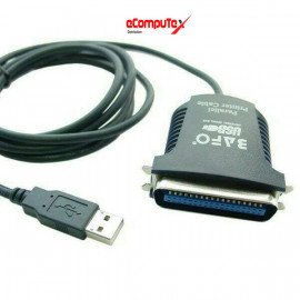USB TO LPT CABLE BAFO / USB TO LPT  PARALEL PRINTER