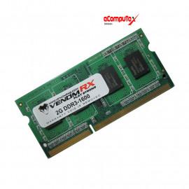 SODIMM VENOM RX DDR3 2GB PC1600