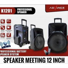 SPEAKER BLUETOOTH +MIC +REMOTE ADVANCE K-1201