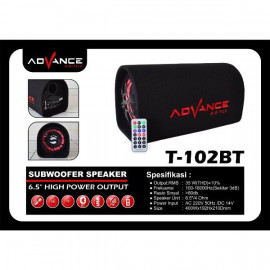 SPEAKER BLUETOOTH +REMOTE ADVANCE T-102BT