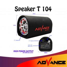 SPEAKER BLUETOOTH +REMOTE ADVANCE T-104BT