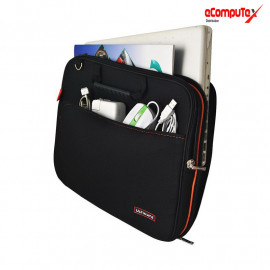 PROTECH SOFTCASE ULTIMATE DOUBLE BL 12 DAN 14 INCH / TAS LAPTOP