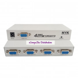 VGA SPLITTER ADAPTOR (HD) 1 TO 4