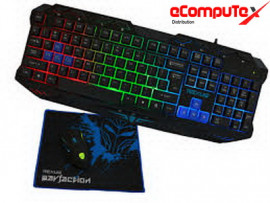 KEYBOARD MOUSE GAMING COMBO REXUS WARFACTION VR1F
